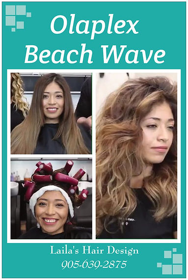 olaplex Beach Wave Perm