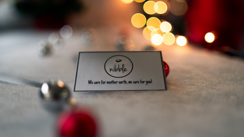 Product photo business card - Nibble