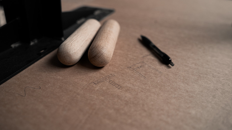 Product photo - Table legs - Topp and Legg
