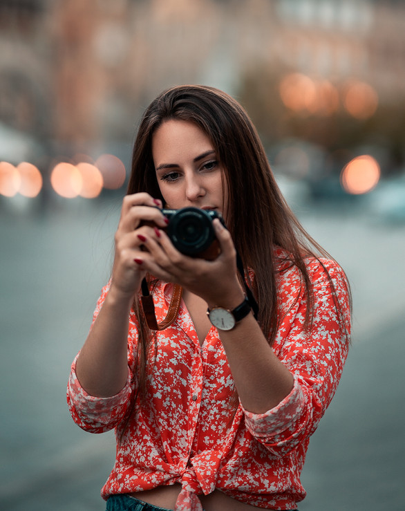 Portrait Photo shoot Ypres, Grote Markt