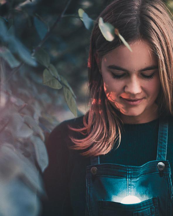 Portrait Photo shoot Kortrijk, International Rose Garden