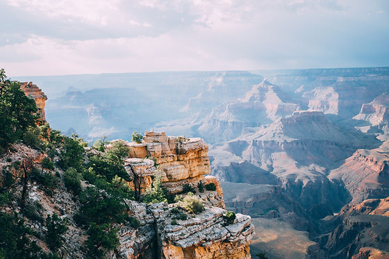 Grand Canyon south rim photograph