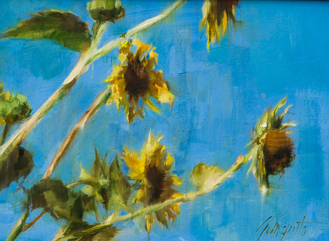 Breezy Sunflowers #1