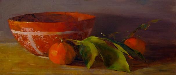 Chinese Bowl and Tangerine