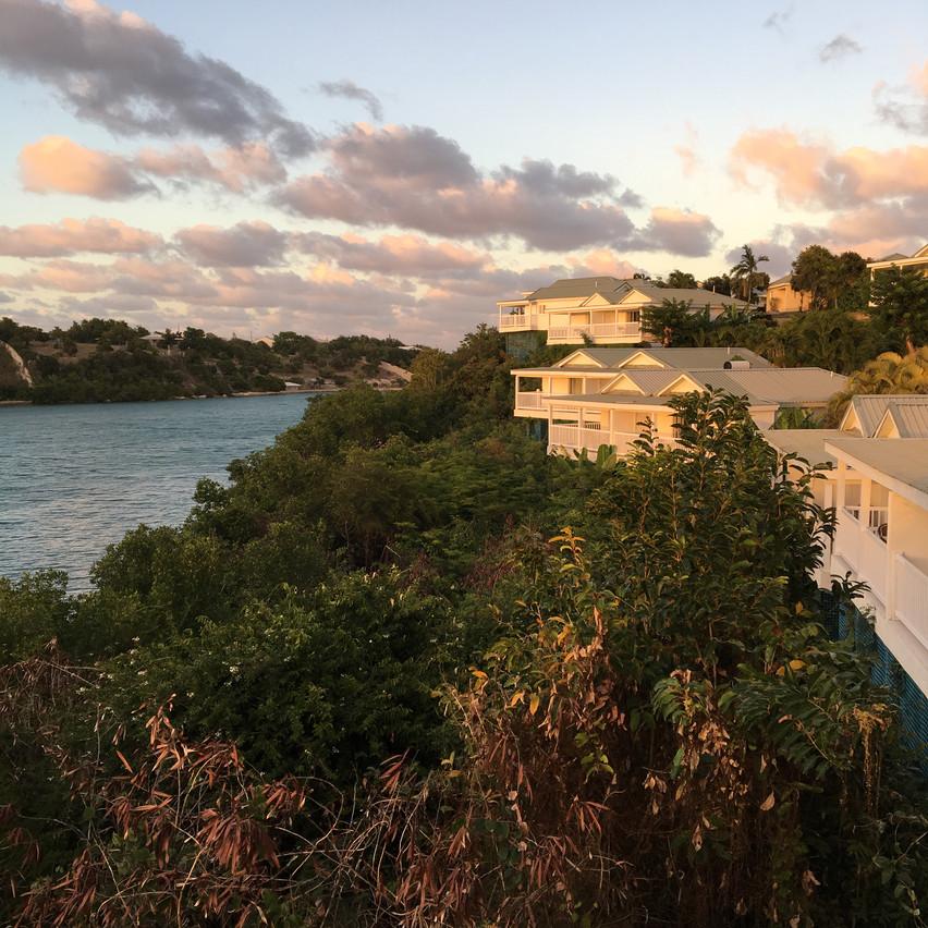 Vue de notre balcon, Voyages Isana