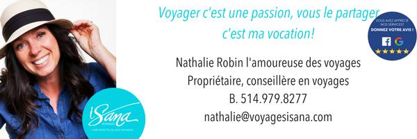 Nathalie Robin, Voyages Isana