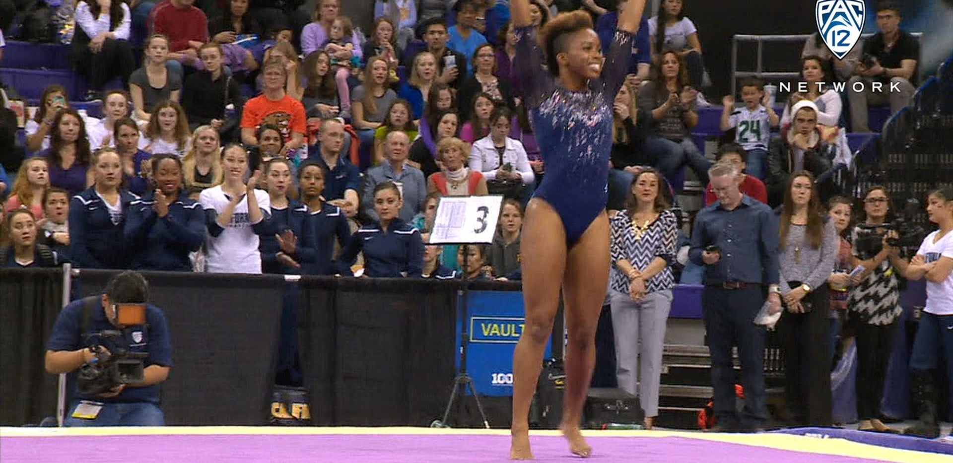 Pac-12 Floor Routine To Win The Championship