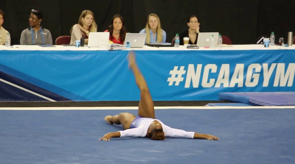 2016 NCAA Championships Floor Routine