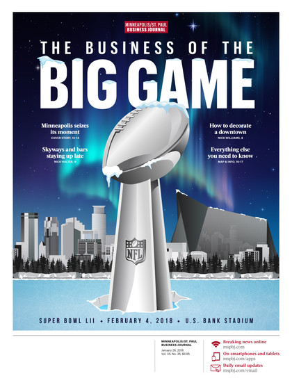 MSPBJ Super Bowl LII Preview Cover