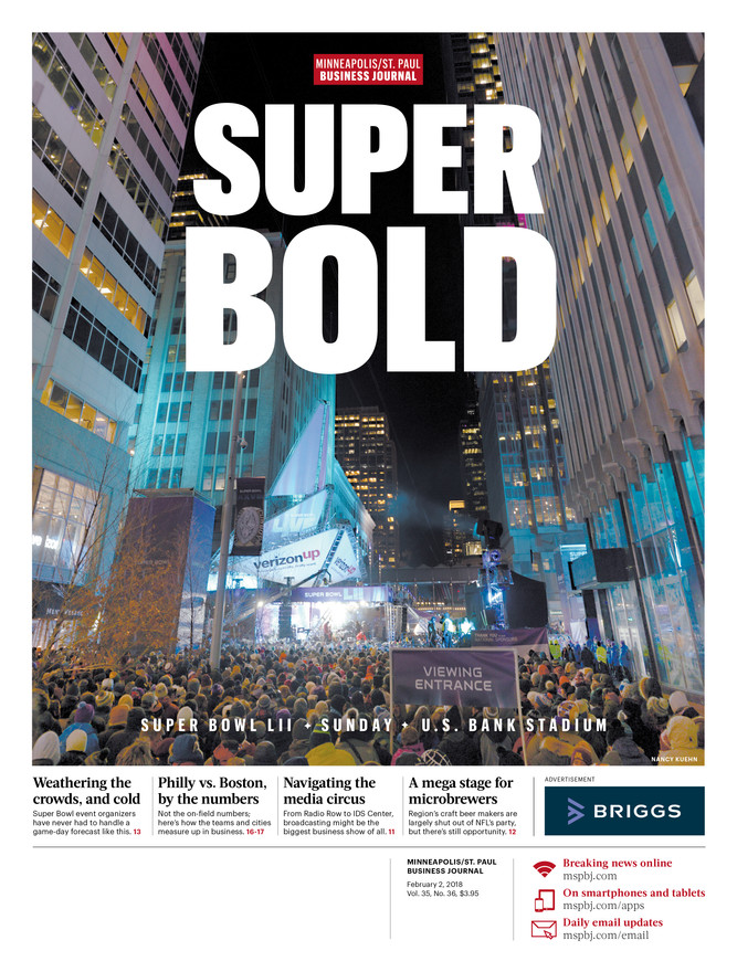 MPSPJ Cover during Super Bowl Week