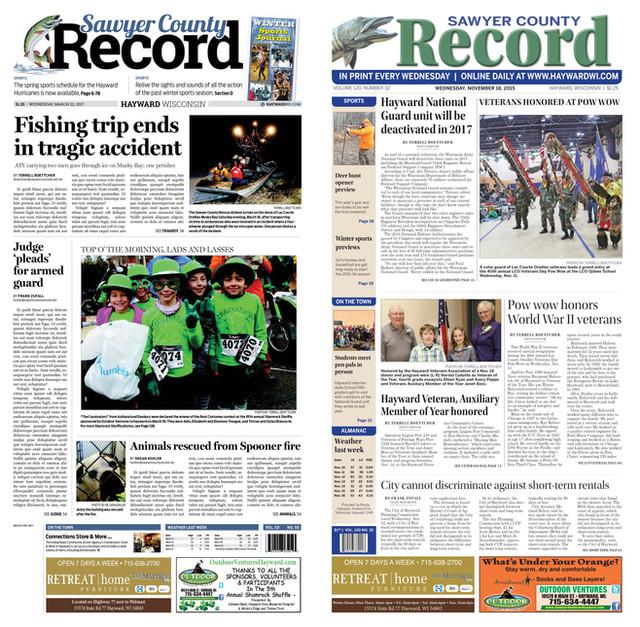 Sawyer County Record
