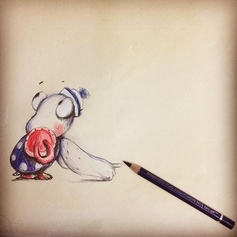 did you draw me with him__ #makartthatsells #matskidbook #characterdesign #childrensbookillustration #kidlitillustration #kidlitartist #penc