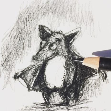 a sweet little bat is going to grow....jpg