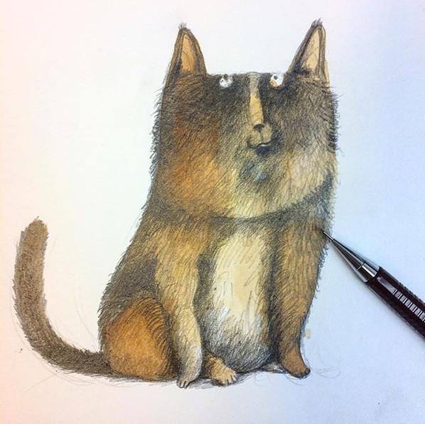 do you feel bored_ Draw a bored cat.....jpg