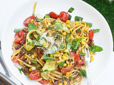 Summer Pasta with CBD