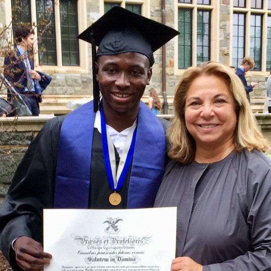 Georgetown Graduation - Yaro and D. Fole