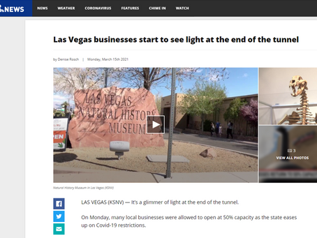 Las Vegas businesses start to see light at the end of the tunnel