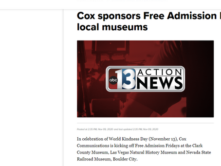 Cox sponsors Free Admission Fridays at local museums