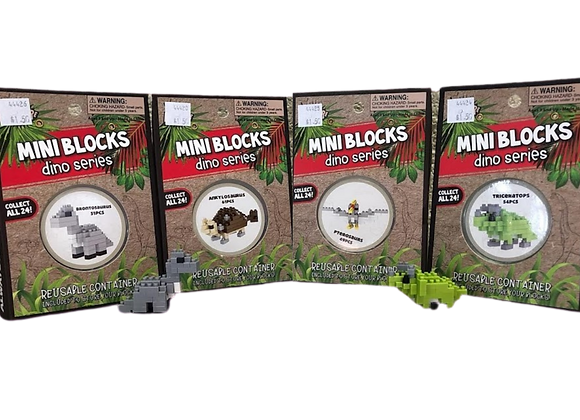 Mini Blocks Set - Dinosaur Series