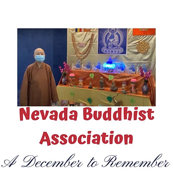 December to Remember: Nevada Buddhist Association