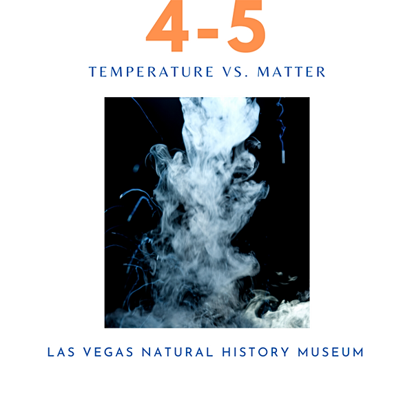Temperature vs. Matter