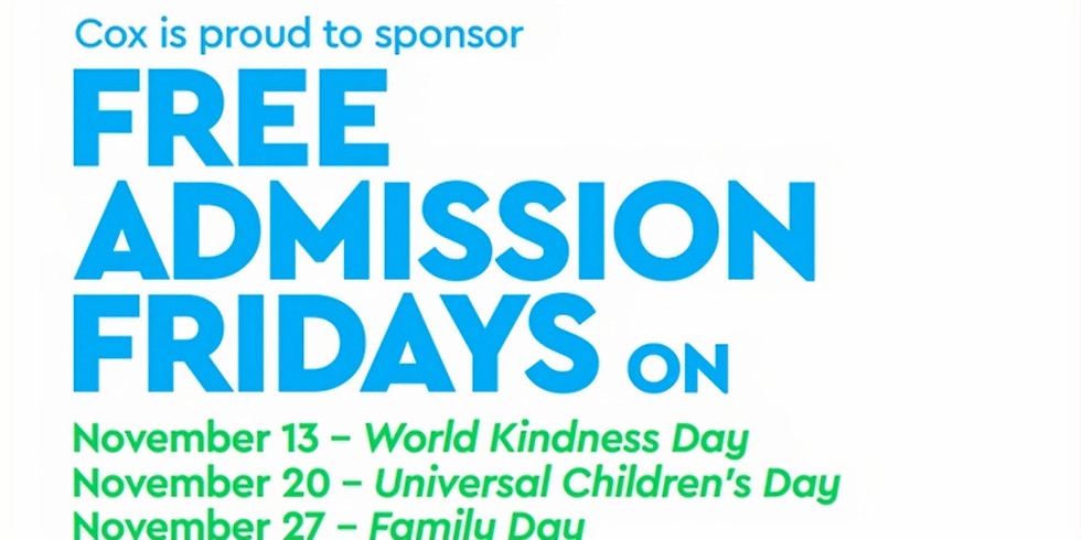 Free Admission Friday - Family Day