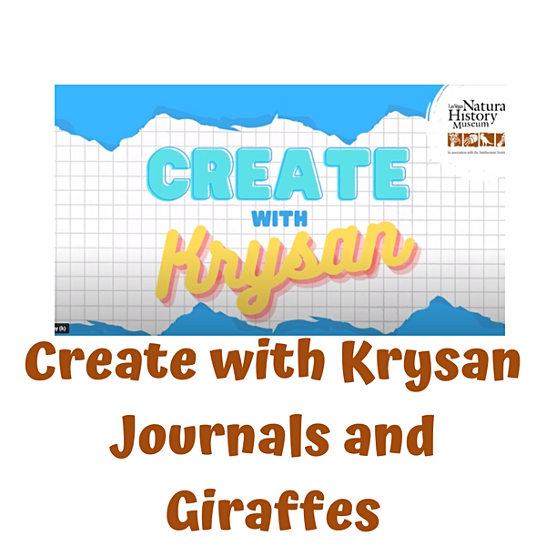 Create with Krysan: Journals and Giraffes