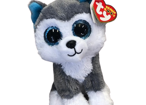 Slush the TY Plush Husky Dog