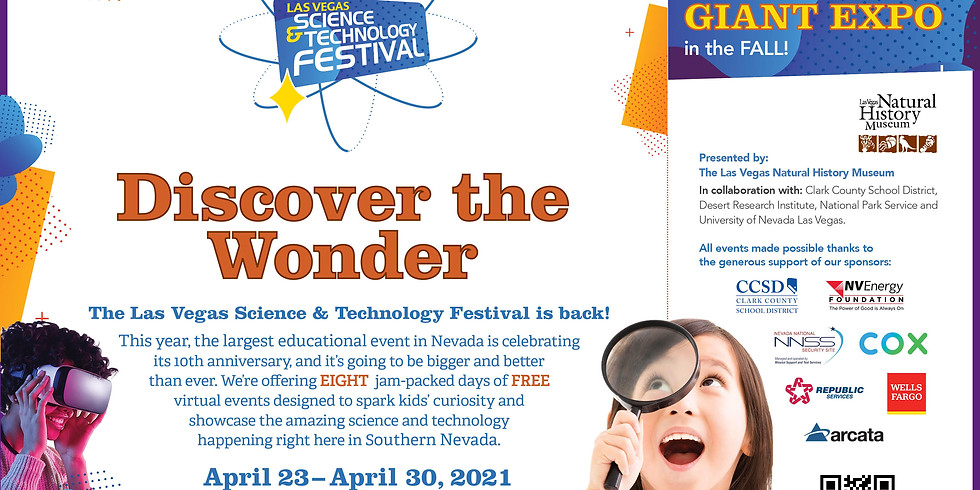 Las Vegas Science & Technology Festival - Virtual Science is Everywhere Day!
