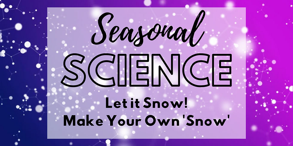 Let it Snow! Make Your Own 'Snow'