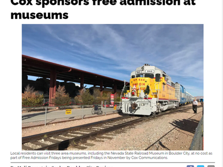 Cox sponsors free admission at museums