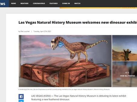 Las Vegas Natural History Museum welcomes new dinosaur exhibit