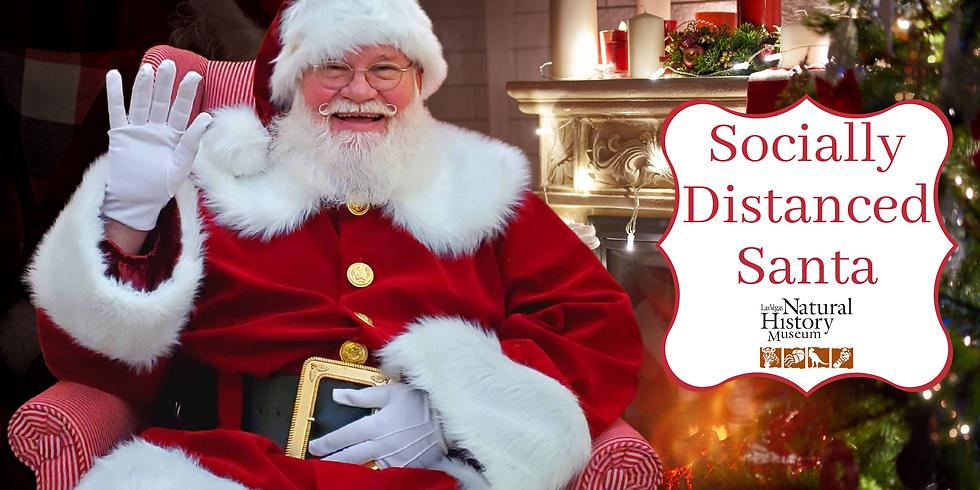 Socially Distanced Santa - Museum Member Registration
