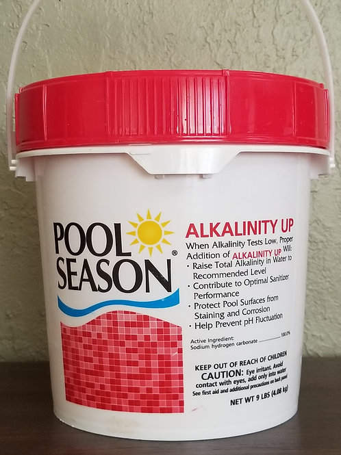 Pool Season Alkalinity UP