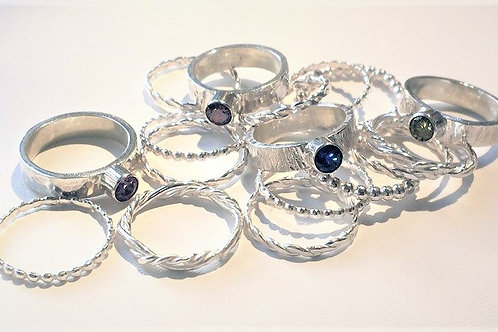 Stacking Rings:  Set of 3