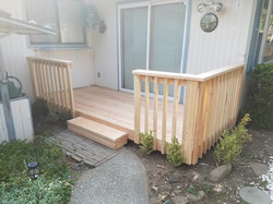 Deck Rebuild Before Paint