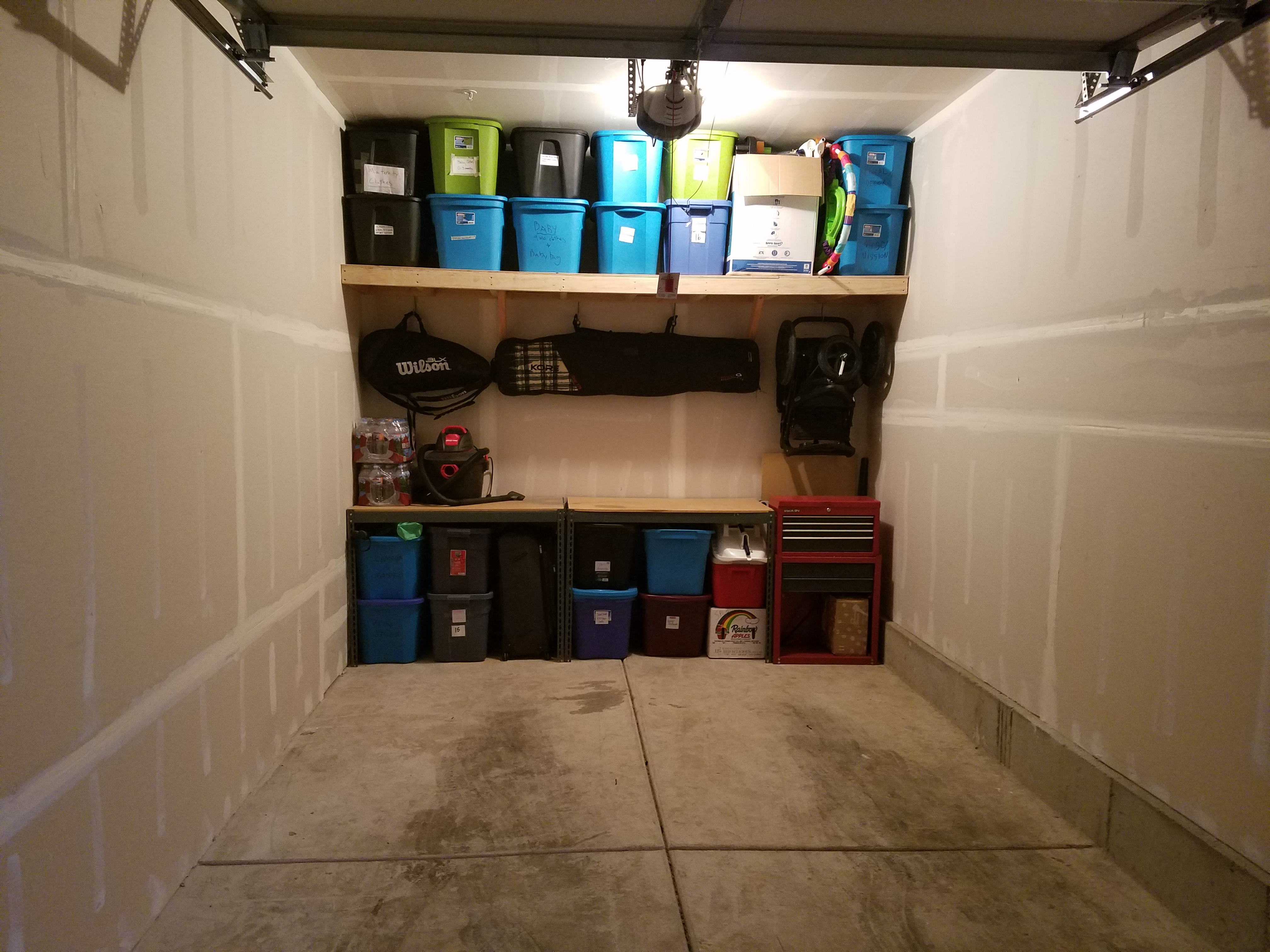 Custom Garage Storage Shelves