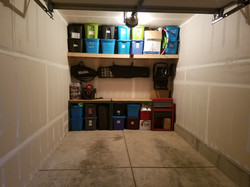 Custom Garage Storage Shelves