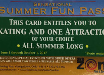 Summer Fun Pass
