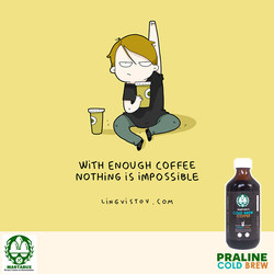 Martabux Cold Brew - Enough Coffee Nothing Impossible 290416