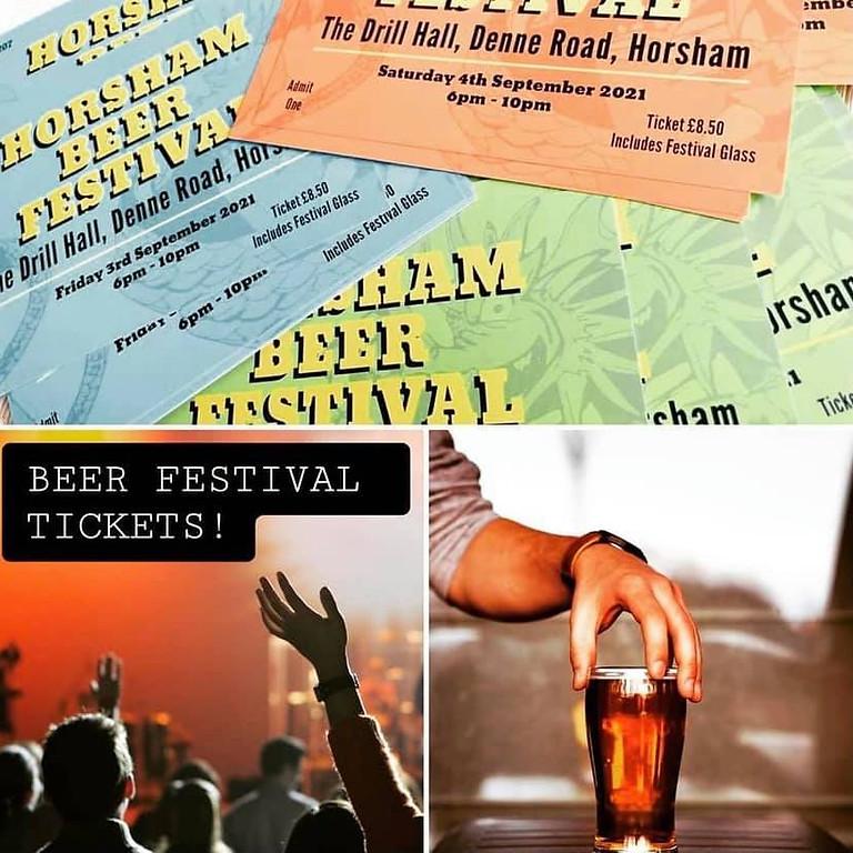 Beer Festival in Horsham UK