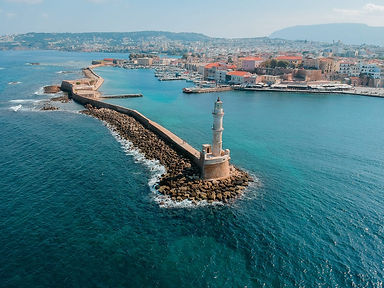 Bonnie and Clyde Urban Tours Chania Lighthouse.webp