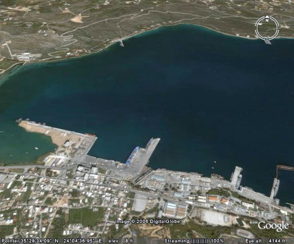Souda port of Chania, Bonnie and Clyde Urban Tours