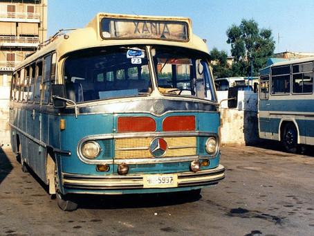 Chania city transportation guide 2021