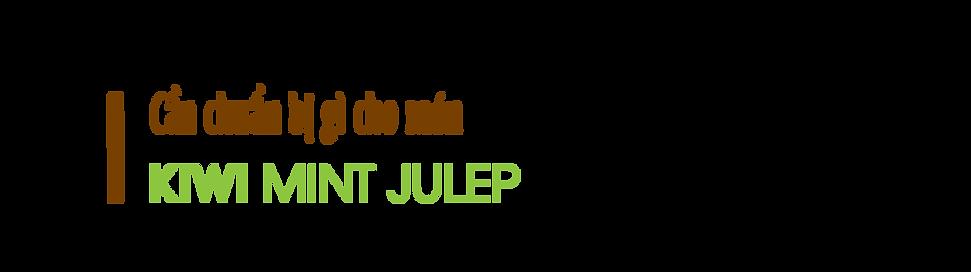 Can-chuan-bi-gi-cho-mon-kiwi-mint-julep