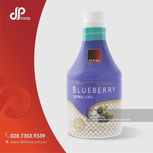 Sản phẩm Smoothie Blueberry của DP Food