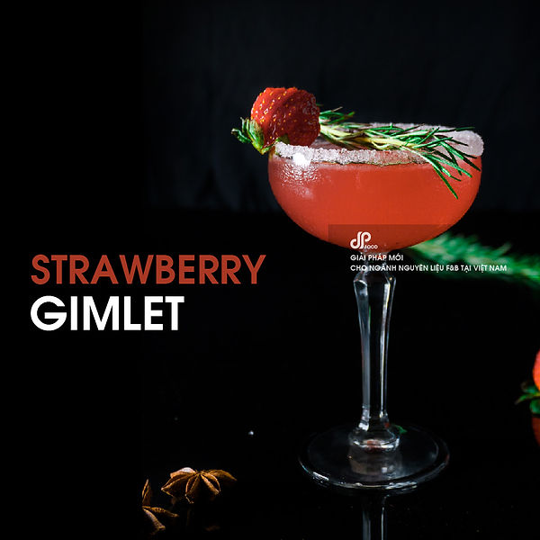 Strawberry-gimlet