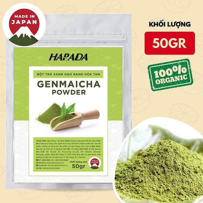 bot-genmaicha-harada-nhat-ban