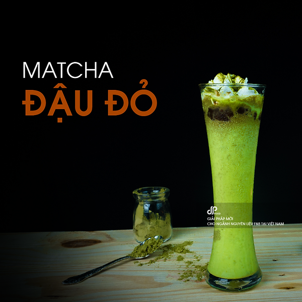 Matcha-dau-do