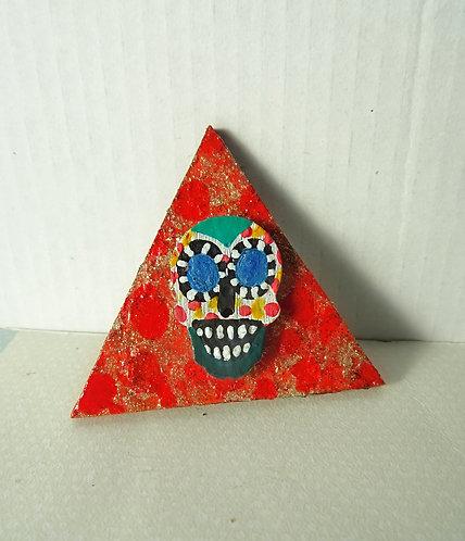 Sugar Skull Pin 1